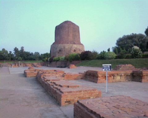 Dhamekh Stupa.