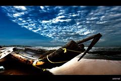 A catamaran ride (saternal) Tags: beach dream catamaran hdr tamilnadu kovalam kattumaram aplusphoto saternal