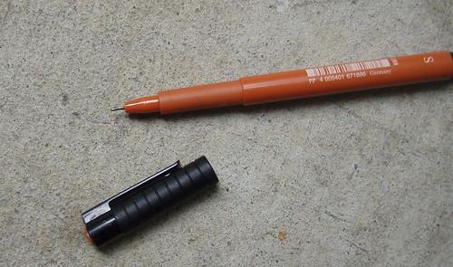Fixing Faber Castell Pitt Artist Pens III