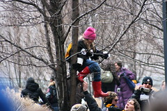 Okay.. Lets go.. (Deepak & Sunitha) Tags: pittsburgh nfl super bowl victory parade title superbowl sixth celebrate 2009 steelers champions grantstreet gosteelers terribletowel herewego steelernation xliii sixburgh slashd