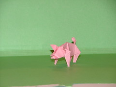 pig 1 (xaoslord) Tags: japan origami traditional paperfolding
