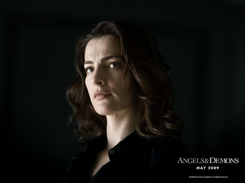 Israeli actress Ayelet Zurer in Angels & Demons - wallpaper