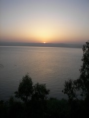 Sunrise sea of galilee