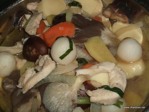 stir fry mushroom