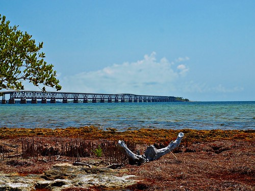Old Bridge View: Spanish Harbor Key