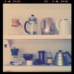 Collection of love. (brianwjones) Tags: coffee brewing barista homebrewing chemex hario dcily