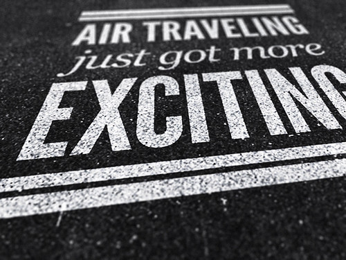 Air traveling
