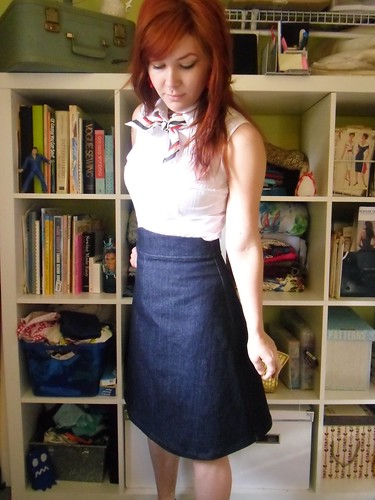 ginger skirt