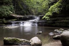 Matthiessen State Park (Ron_Osborn) Tags: park beautiful canon waterfall illinois state peaceful matthiessen matthiessenstatepark enjoyillinois t1i