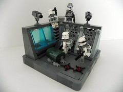 Mission 8.1 (Brickcentral) Tags: trooper star lego wars squad clone vignette parasite upon moc endowment 16x16 kolto manaan