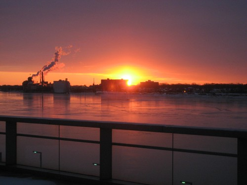 Canada across Detroit River