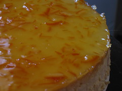 Peach Cheesecake I