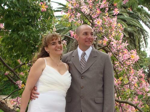 Feliz pareja III - En el parque