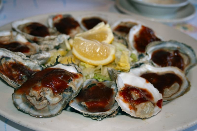 Famous Local BBQ Oysters