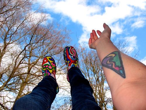 3redvan · somanyme · tattoo sky shoe