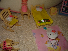 MINI ROOM 2 (PinkWorld) Tags: pink cute miniature hellokitty mini sanrio kawaii mymelody hellokittydollhouse