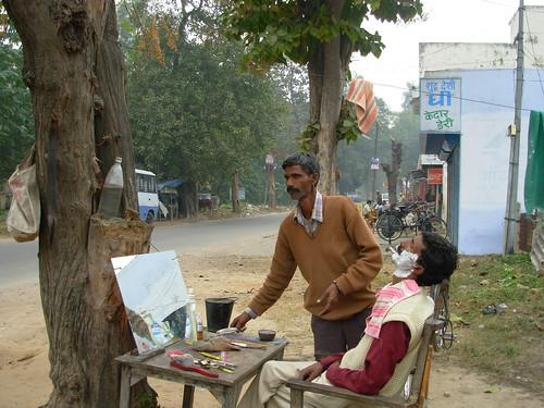 Street barber - 3