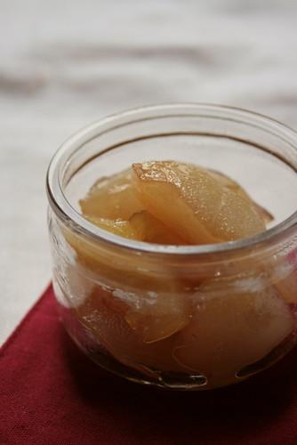 compote de poire