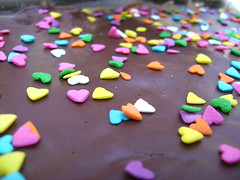 Hearts (patreznor) Tags: birthday cake hearts chocolate cumpleaos tarta corazones