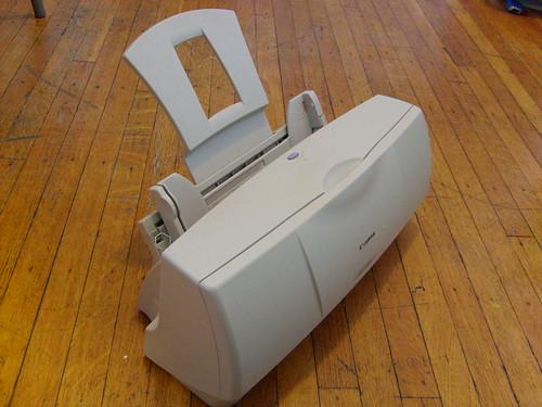 Mi Nueva Impresora Vintage Un Lagarto Abuhardillado