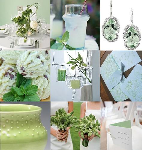 2375456632 ba4c9d19ed 141 ideias de casamento verde e branco