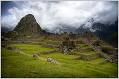 Machu Picchu (Kaj Bjurman) Tags: mountains green peru grass machu picchu inca clouds eos inka machupicchu 2008 hdr kaj cs3 photomatix 40d bjurman peruvianimages
