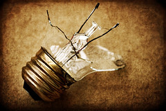 I Think My Imagination Broke... (.Bradi.) Tags: texture broken lightbulb imagination shattered beefstew 2cwdrs cwdrs 2cwdrs64 cwdrs64