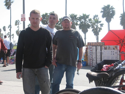 Mike S., Garrett and Mike L.