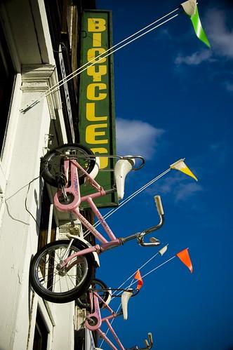 30 Tiny Moments #10: Pink bikes