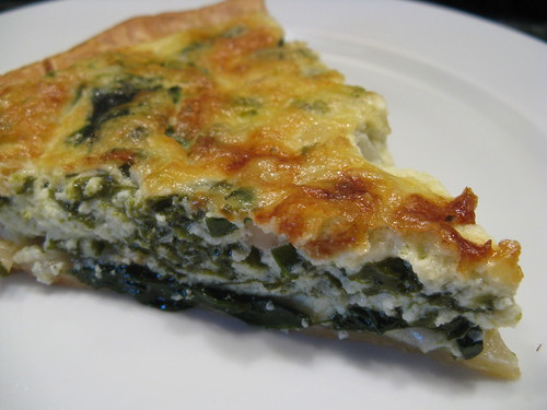 Spring Quiche With Leeks And Sorrel Recipe — Dishmaps