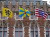 Banderas en Brujas