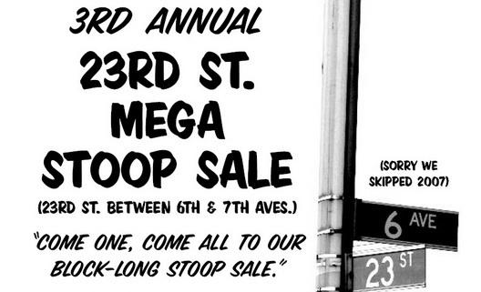 23rd St Stoop Sale Crop