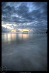 Hanalei Bay - Kauai (Arnold Pouteau's) Tags: ocean sunset beach hawaii pier pacific kauai hanaleibay
