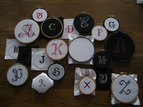 alphabetical disorder