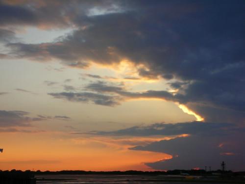 3-Minneapolis Airport Sunset