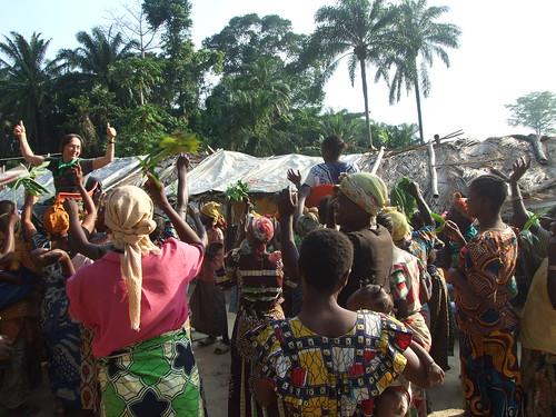 Our reception at Obenge