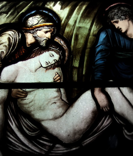 "Detail of ""The Entombment"""