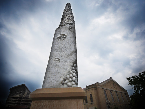 Madison Erects Giant Phallic Tower to Ward off Storm Gods