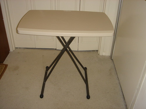 Lifetime Folding Personal Table - $30.00 (pic.1)