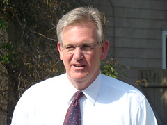 MO; Jay Nixon out canvassing doors in St. Jose...