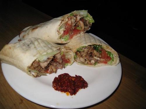 Chicken Shawarma @ Kazbar
