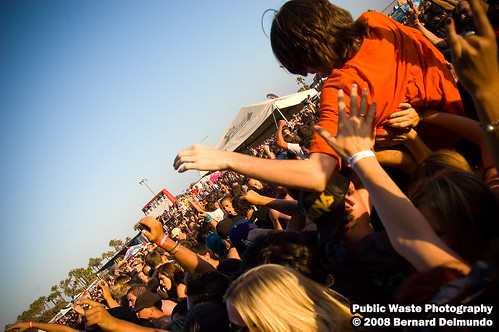 crowd surfer for Pennywise