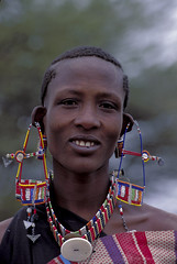 Portrait of woman. Kenya. Photo: © Curt Carnemark / World Bank