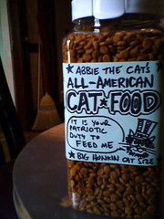 Abbie the Cat's All-American Cat Food
