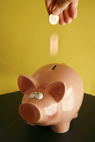 Piggy savings bank by Alan Cleaver, on Flickr