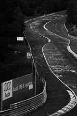 Nordschleife. (LmW/FvR) Tags: bw white black car d50 germany deutschland photography mercedes benz blackwhite nikon gallery sunday fine porsche bmw audi m6 v10 testtrack rs6 the nurburgring nurburg of nordscheife thegalleryoffinephotography circtuit