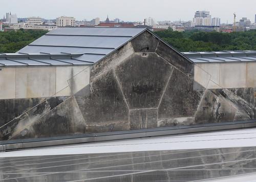 На крыше Рейстага