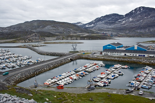 Godthaab (Nuuk) Harbor, Greenland