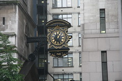 1 o'clock 1709 (John.P.) Tags: uk clock church martyr guesswherelondon stmagnus ec3 gwl 1709 lowerthamesstreet