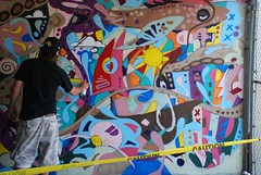 DSC_0681 (Kurt Christensen) Tags: art beach painting mural surf thrust gilgobeach gilgo